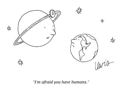 cartoon you have humans