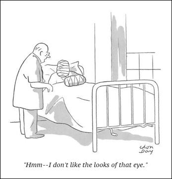 cartoon look of eye