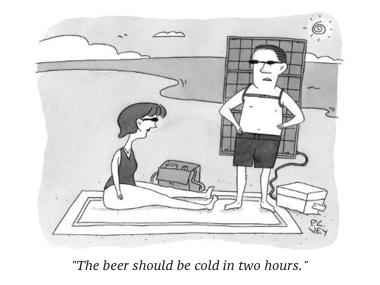 cartoon solar beer