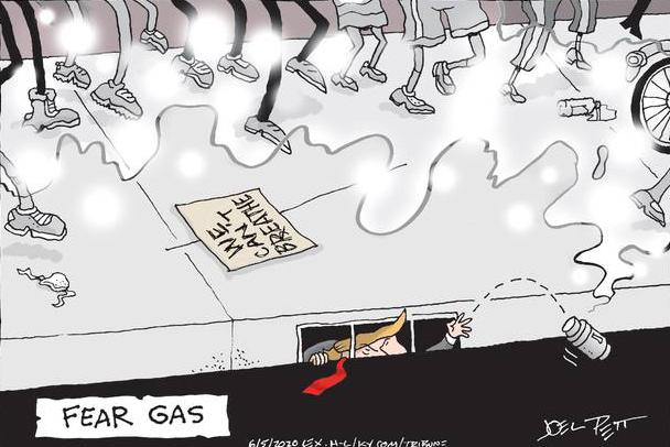 cartoon fear gas