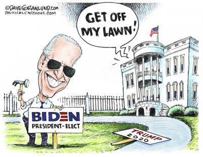 cartoon lawn