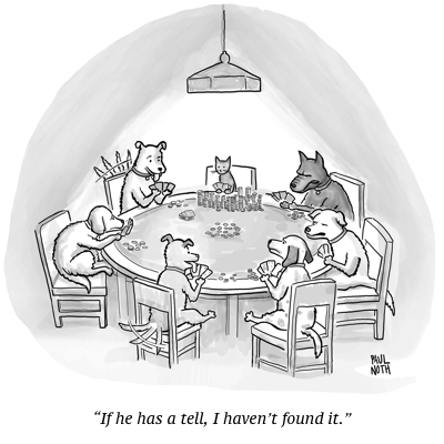 cartoon dog cat poker